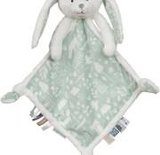 Little Dutch Cuddle blanket rabbit mint