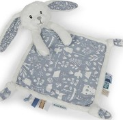 Little Dutch Cuddle blanket rabbit blue