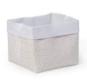Childhome Opbergmand, gold dots, 32*32*29