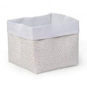 Childhome Storage Basket, gold dots, 32*32*29