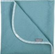Plum Plum Blanket bed bears-unicolor green, 100*150