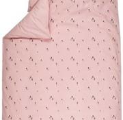 Plum Plum Dekbedovertrek junior bed pink gnome 140*200