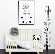 Plum Plum Duvet cover panda baby bed