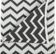 Plum Plum Blanket bed panda/stripes