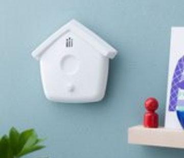 Flow Flow rookdetector huisje wit