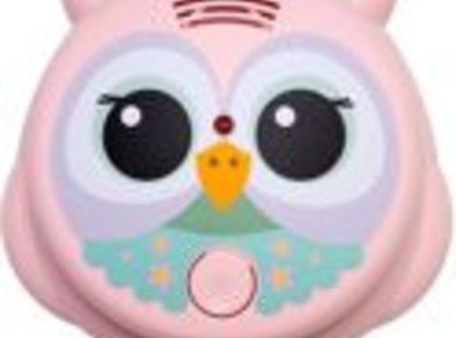 Flow Flow smoke detector owl pink