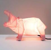 Disaster Design Lamp hippopotamus pink