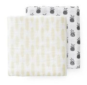 Fresk Swaddle, 70*60, 2st, pineapple
