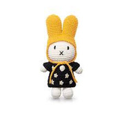 JustDutch Miffy and the black dress and yellow hat