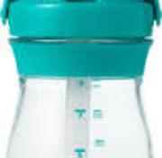 oxotot Transitie beker rietje 250 ml Teal