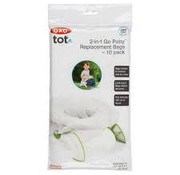 oxotot 2-in-1 potty throw away bags