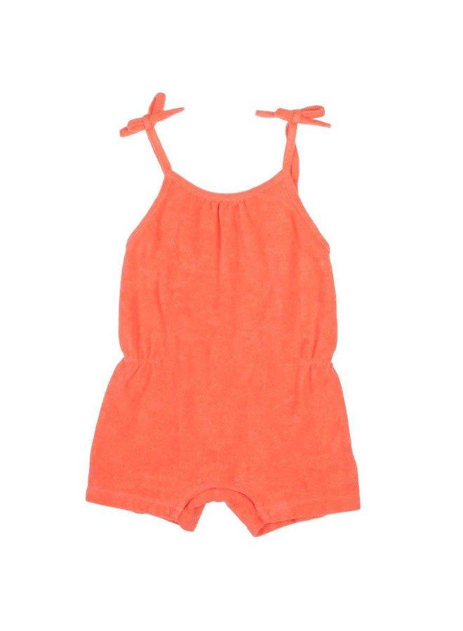 Jumpsuit, oranje badstof