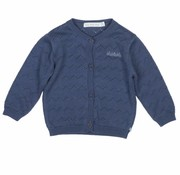 Blablabla Vest, gebreid donkerblauw