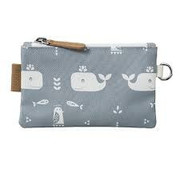 Fresk Wallet whale grey