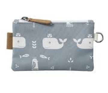 Fresk Portemonnee whale grey