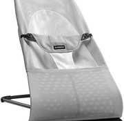 Babybjorn Baby bouncer balance Soft silver and white