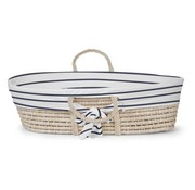 Childhome Moses basket with jersey marin lining