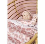 Meyco Deken panter roze 100 x 150 cm
