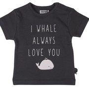 ZERO2THREE T-shirt, i whale always love you