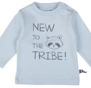 ZERO2THREE T-shirt, lange mouwen, wasbeer