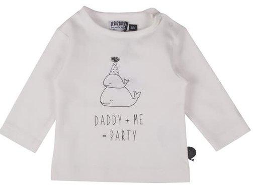ZERO2THREE T-shirt, lange mouwen, daddy me