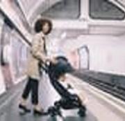 Ergobaby Wandelwagen, Metro Ergobaby, zwart
