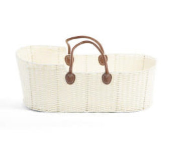 Childhome Moses basket offwhite