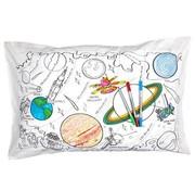 eat sleep doodle Kussensloop, doodle, space