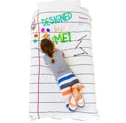 eat sleep doodle Donsovertrek, doodle