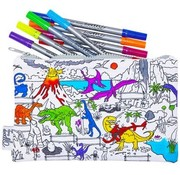 eat sleep doodle Pencil case, dino, doodle