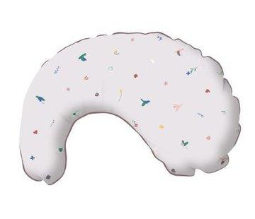 Sebra Nursing pillow singing birds
