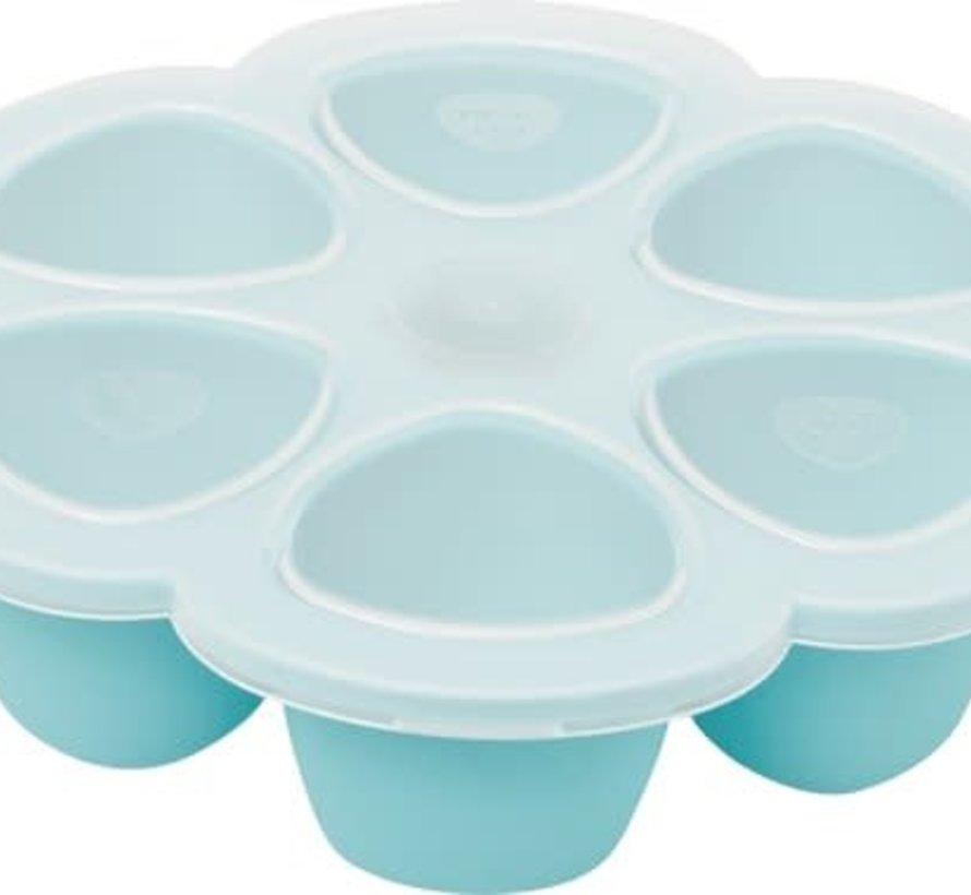 Diepvries multiportie babyeten 6*150ml blauw