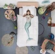 snurk Snurk zeemeermin overtrek eenpersoonsbed 140 x 220 cm