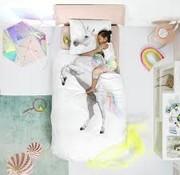 snurk Snurk bedlinnen unicorn for single bed 140 x 220 cm