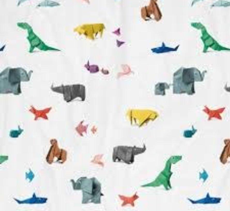 Snurk amazone paper zoo overtrek eenpersoonsbed 140 x 220 cm
