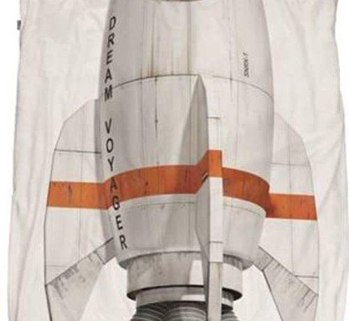snurk Snurk raket overtrek eenpersoonsbed 140 x 220 cm