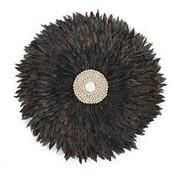 Childhome Juju Feathers 30 cm Antraciet