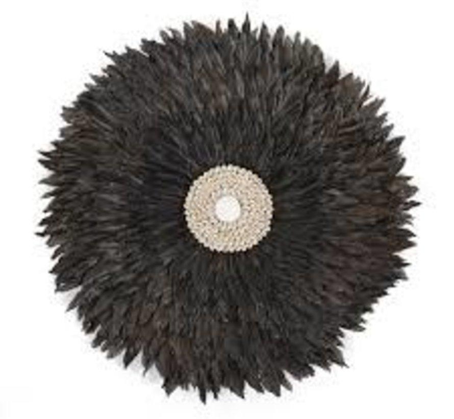 Juju Feathers 30 cm Antraciet