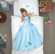 snurk Snurk prinses overtrek eenpersoonsbed diverse kleuren 140 x 220 cm