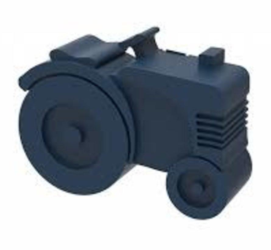 Blafre lunchbox tractor dark blue