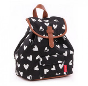 kidzroom Backpack hearts black