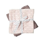 Done by Deer Swaddles 2-pack balloon pink