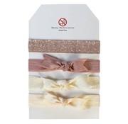 Milledeux Set of 4 hairtiels, choose your colour