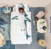 snurk Snurk bedlinnen shark for single bed 140 x 220 cm