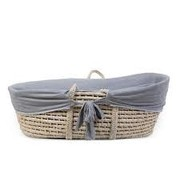 Childhome Moses basket lining grey