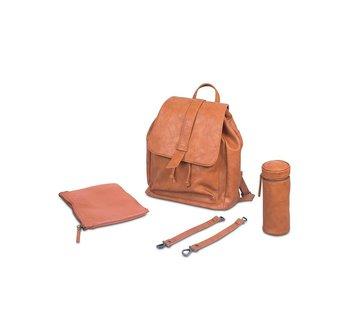 Jollein Diaper backpack bag cognac Roxy
