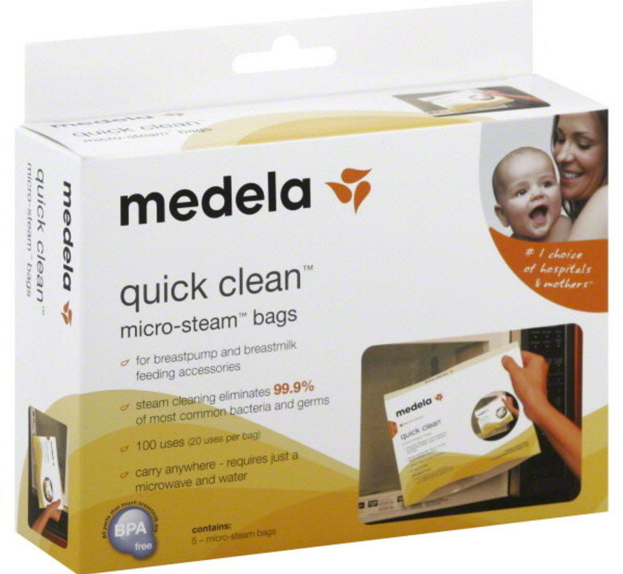 Copy of Medela moedermelk bewaarzakjes
