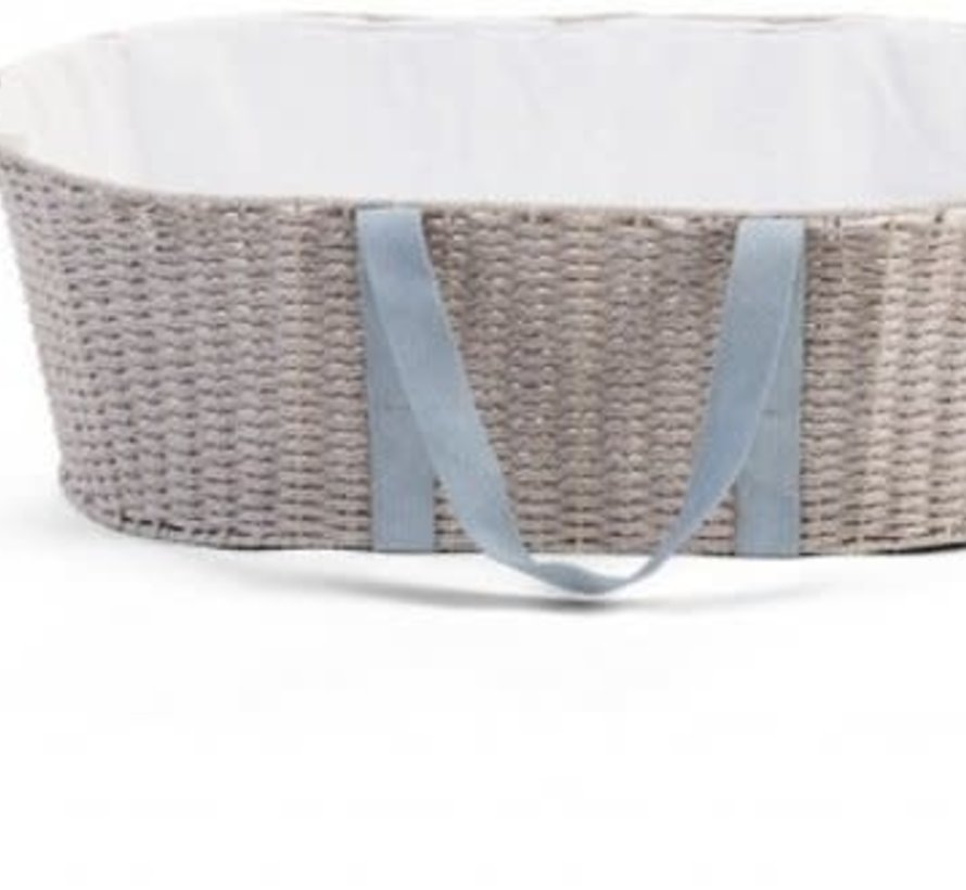 Moses basket grey