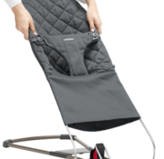 Babybjorn Extra fabric seat for bouncer bliss anthracite