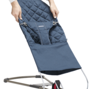 Babybjorn Extra fabric seat for bouncer bliss midnight blue